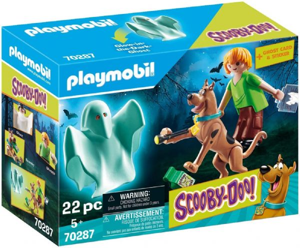Playmobil 70287 SCOOBY-DOO!© Scooby and Shaggy with Ghost Toy